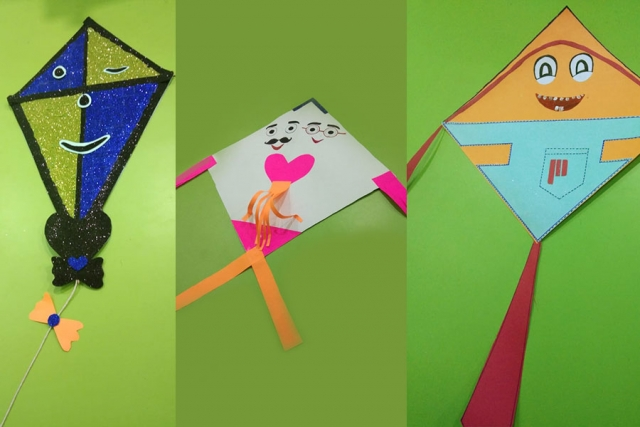 Saturday Activities with Kite Making